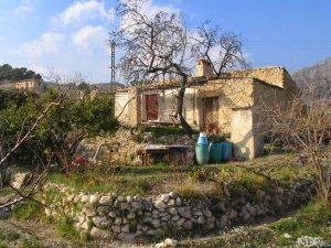 Casa José antes de la restauración