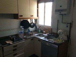 Unreformed kitchen