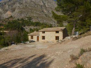 Maset Mira después de la restauración de la ruina