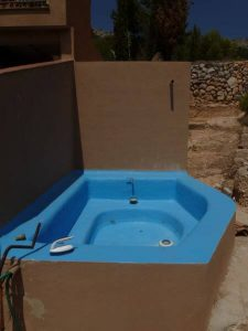blue water raft
