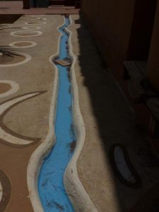 water collection path