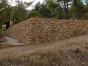 paths between stone margins