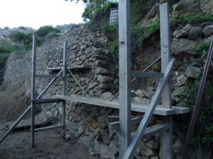 stone margin construction