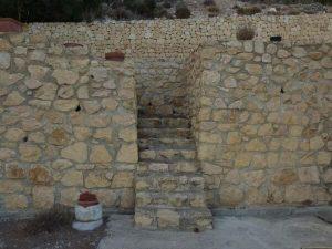 stone margin staircase