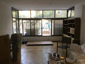 pre-reform living room