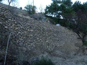 stone margin two heights