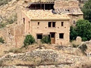 ruina de almusent reconstruyéndose